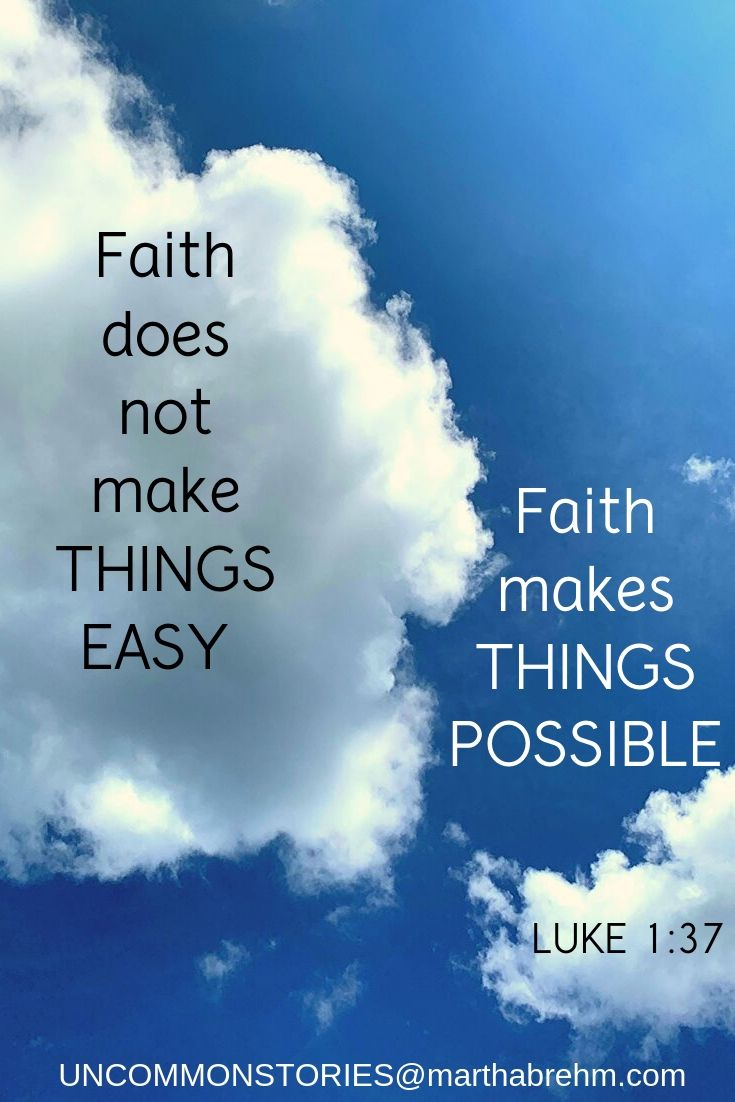 Faith pin for Pinterest