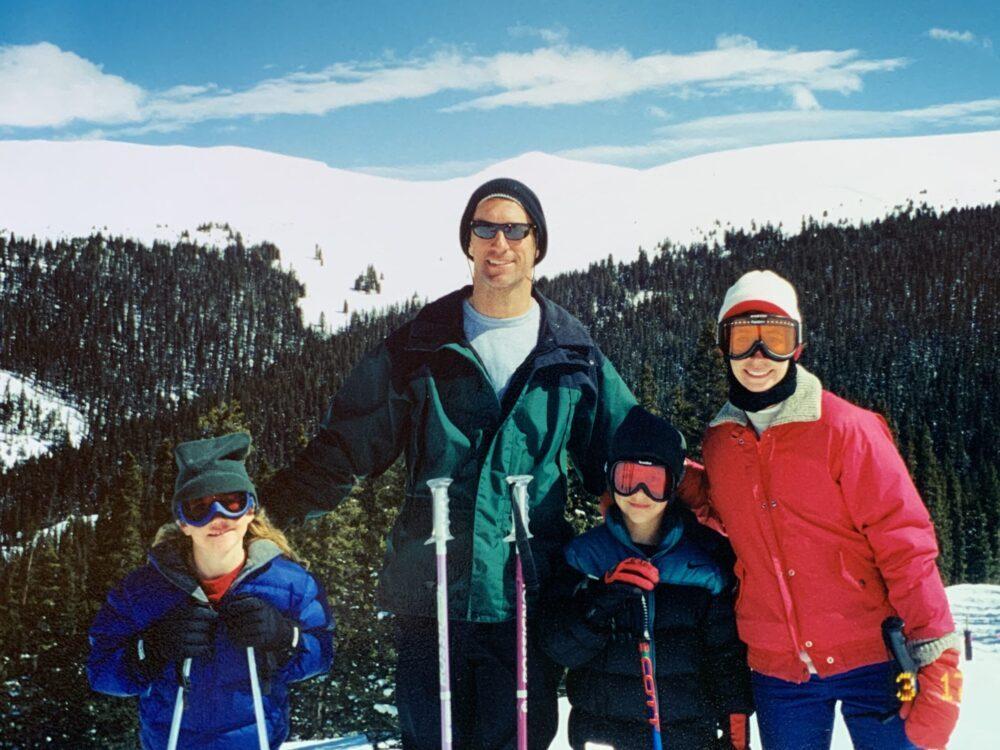 A snap shot on the ski trip